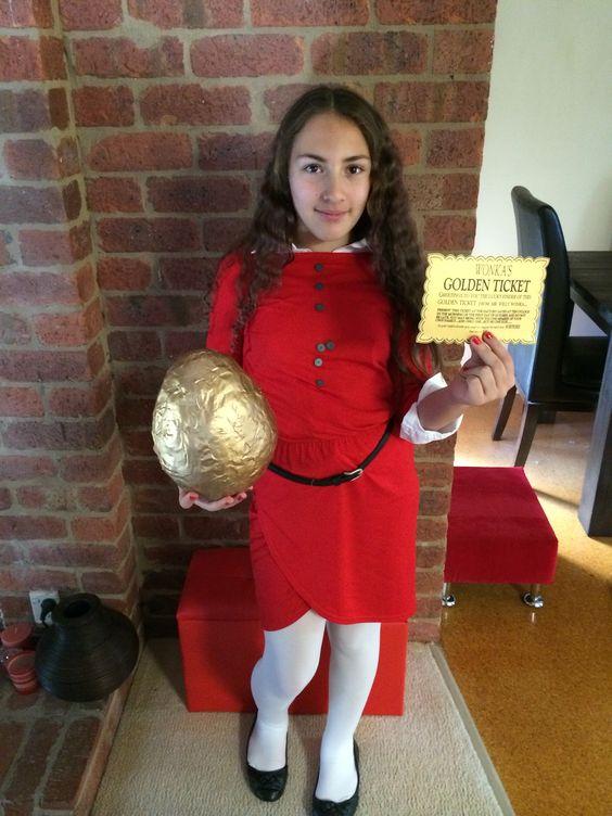 Varuca Salt costume for Book week.