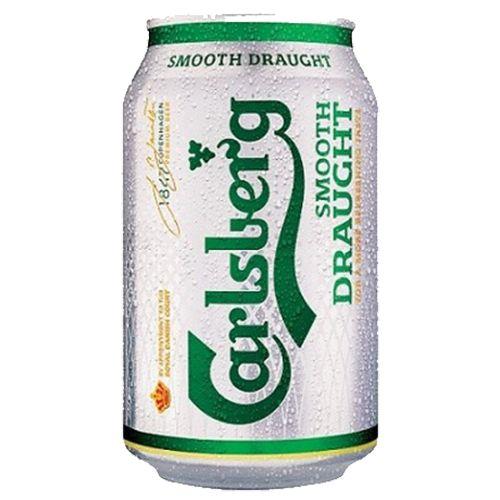 Bia Carlsberg 4.8% - Lon 330ml - Bia Đan Mạch Nhập Khẩu TPHCM