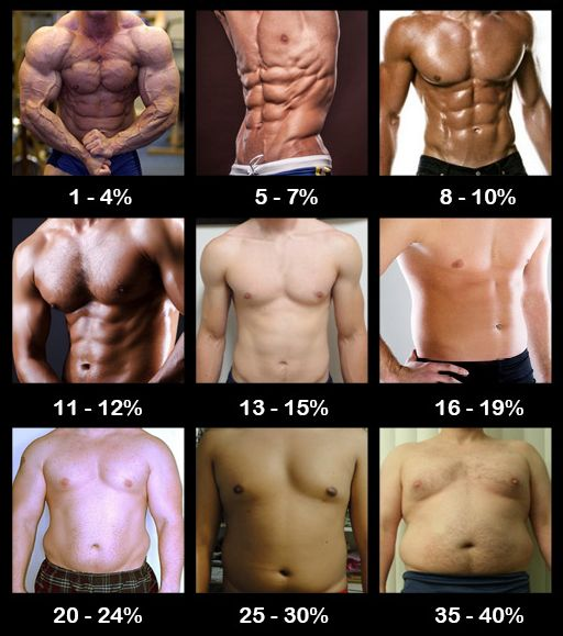 Body Fat Percentage, How Much Is Yours? | Men'S Weight Loss Body