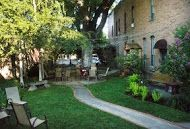 Welcome to Durango, Colorado's hidden garden! This slice of heaven is the perfect place to enjoy a cocktail while listening to live music! #vacation #visitdurango #fun #pretty
