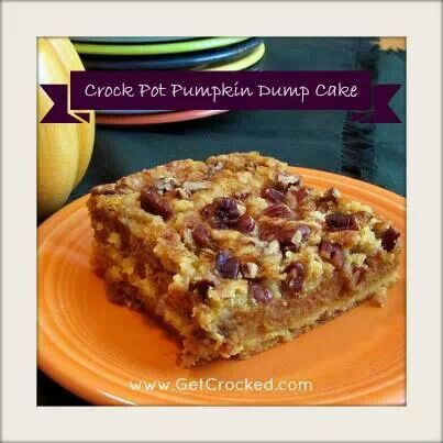 ... pumpkin and more pumpkins crockpot cakes dump cakes pumpkin dump cakes