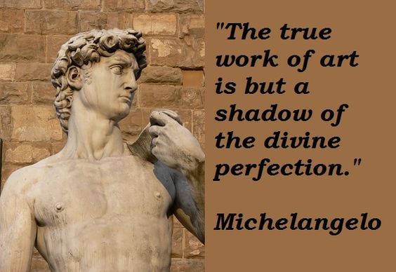 Michelangelo Quotes: