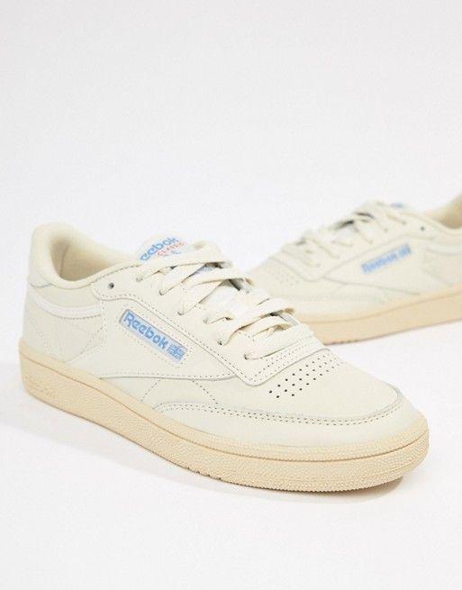 Reebok | Reebok Club C 95 Chalk Sneakers | Reebok white