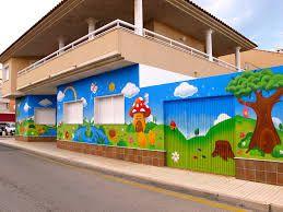 Resultado de imagem para fachadas de guarderias infantiles