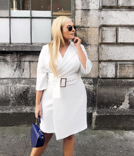 На какие вещи стоит обращать внимание, если ваша фигура пышных форм | модница | Яндекс Дзен