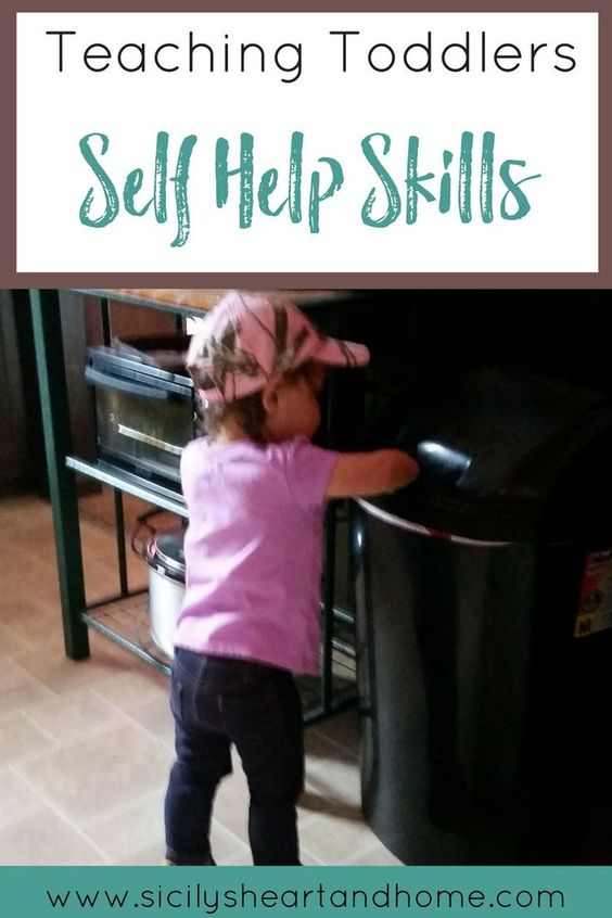 Teaching Toddlers Self Help Skills | Teaching self-help skills and…