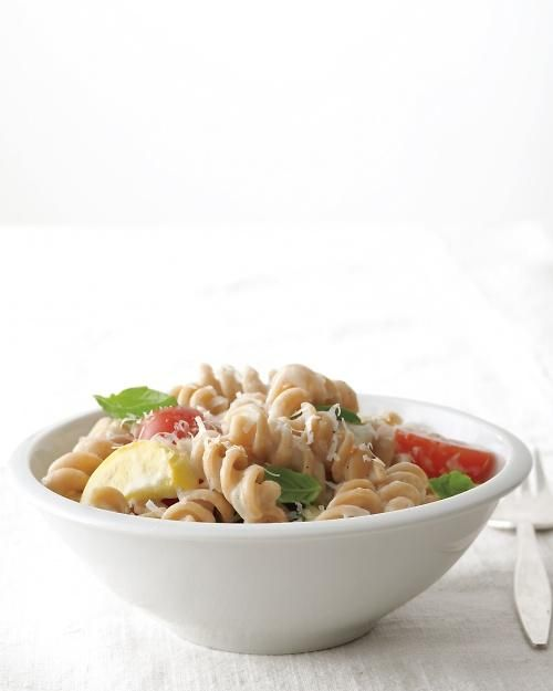 Whole wheat pasta primavera recipe
