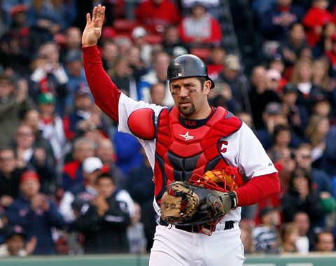 Jason Varitek. Making his official retirement announcement today. Sad.