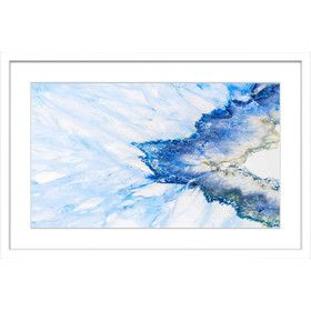 Snow & Sea Framed Painting Print