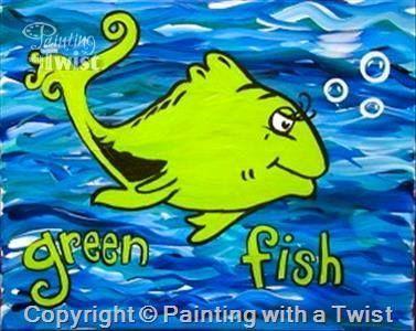 Seuss Painting | Budding Artist | Pinterest | Dr. seuss and Paintings