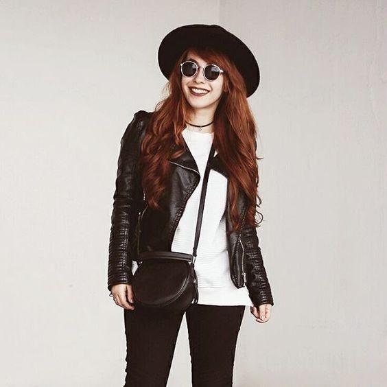 O blog está atualizado com fotos de um look novo! Inspiração para o inverno.  www.heycarpediem.com #ootd #outfit #lookdodia #fashionblogger #blackandwhite #cold