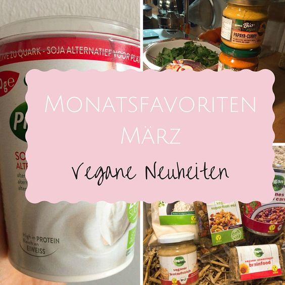 Hier findest du meine veganen Monatsfavoriten für den März.