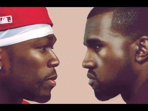 Just In 50 Cent Obliterate Kanye West Rants Gangsta Rap Rap Rapper Delight