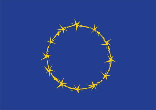 Vlag van Fort Europa: