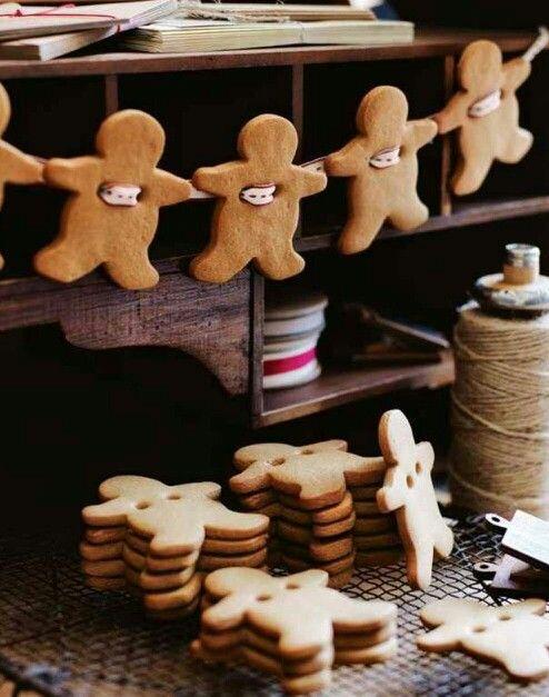 Lebkuchenmänner angetreten! Süße (im wahrsten Sinne) Deko für den Advent ⭐⭐⭐
