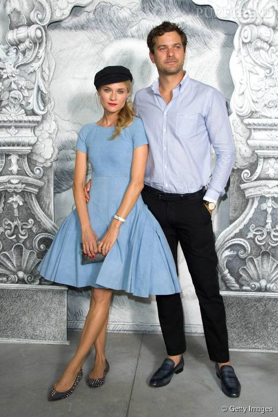 Diane Kruger et Joshua Jackson, un couple toujours très bien assorti.