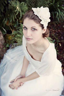 classic bridal look...