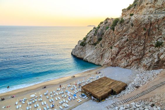 Antalya Kemer Meer -Strand #Turkey #Holiday #Travel #Sea #Meer #Antalya #turkish riviera