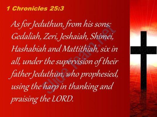 0514 1 chronicles 253 who prophesied using the harp powerpoint church sermon Slide03http://www.slideteam.net
