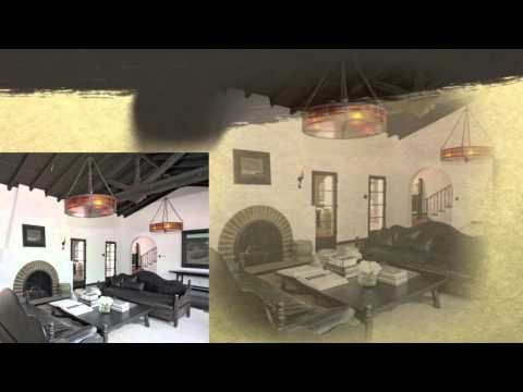 Diane Keaton's Luxury Spanish Hacienda - video tour from The Celebrity Home…