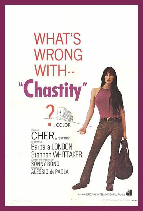 chastity 1969 film poster starring cher movie stars