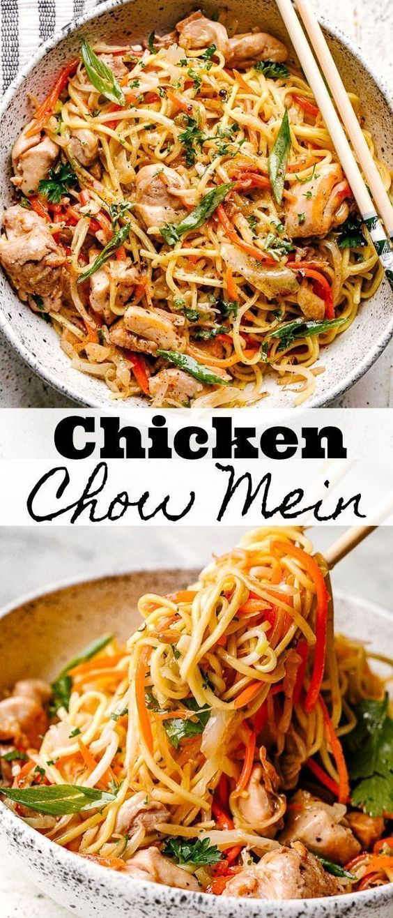 EASY Chicken Chow Mein Recipe - Ready in 25 Minutes!