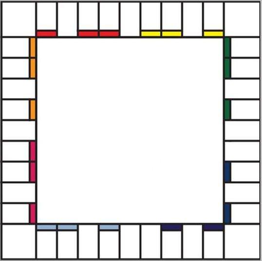 Blank Monopoly Board Board Games Clue Board Game Fun Board Games