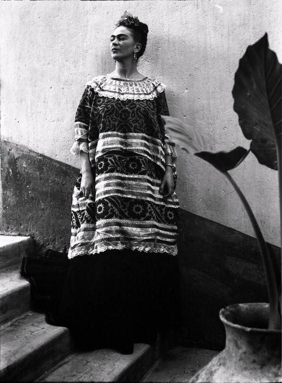 Frida Kahlo por Leo Matiz, 1946.:
