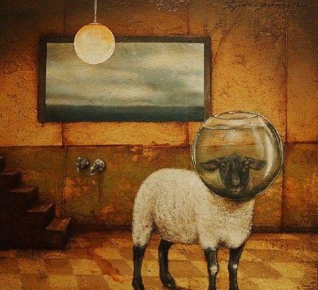 j'aurai pu être un mouton (penture : Tyson Grumm)