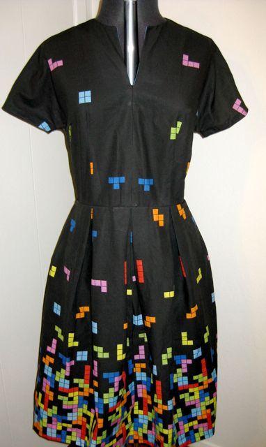 tetris dress!!