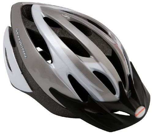 Schwinn Thrasher Adult Helmet With Rear Tail Light Mountain