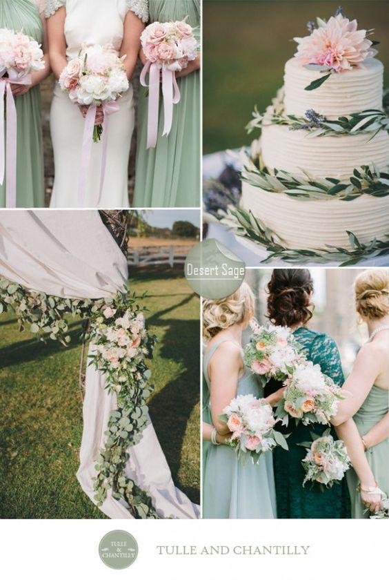 Desert sage green wedding color ideas fall 2015 pantone Sage green pantone