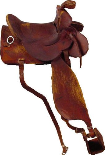Saddle-Miniature-Leather-1-12-scale-Handcrafted-OOAK-in-Texas