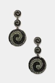 "Designer Inspired Spiral Pattern Black Diamond Crystal Earrings. 2.75"" (L) X 1.25"" (W) Hail Mary Gifts,http://www.amazon.com/dp/B00CBJ3690/ref=cm_sw_r_pi_dp_lX3LrbAE7A9E458E"