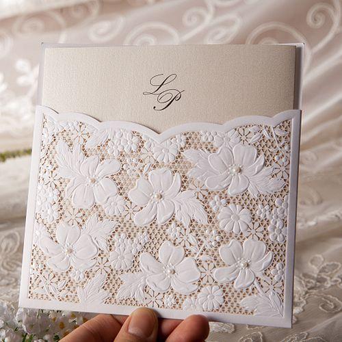 http://www.romizdesign.com/ RomiZ Design ❤  Boutique studio for premium wedding invitations Luxury lace & gems invite, customized to your unique wedding ❤