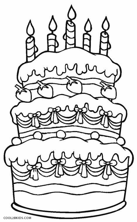 Birthday Cake Coloring Page Top 20 Birthday Cake Coloring Page Happy Birthday Coloring Pages Birthday Coloring Pages Coloring Pages For Kids