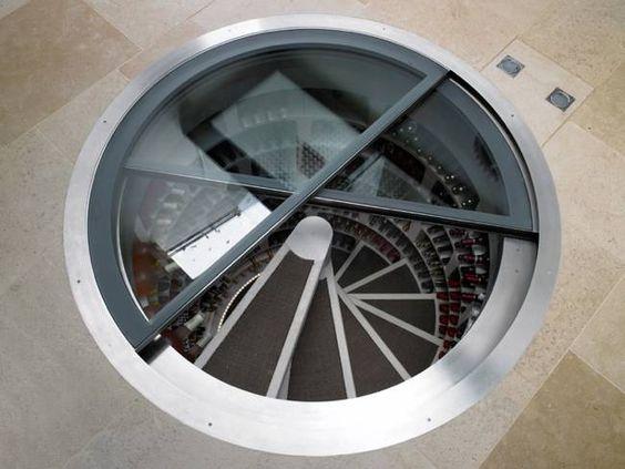 Spiral Cellars – Underground Wine Storage System, $25000 #wine #luxury