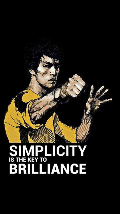 Simplicity Is The Key To Brilliance Bruce Lee Bruce Lee Quotes Simplicity Quotes Brilliance Quotes Key Qu In 2020 Bruce Lee Quotes Bruce Lee Pictures Bruce Lee