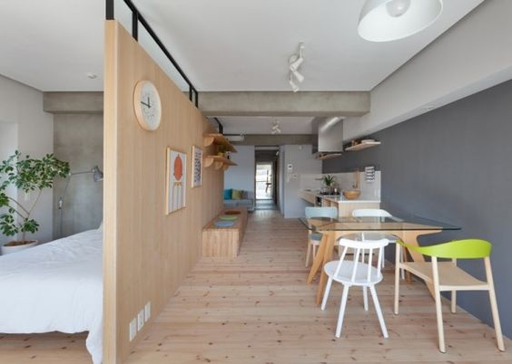 The architects sought to make the house more open and give it the connected feeling that comes with living as a couple.
