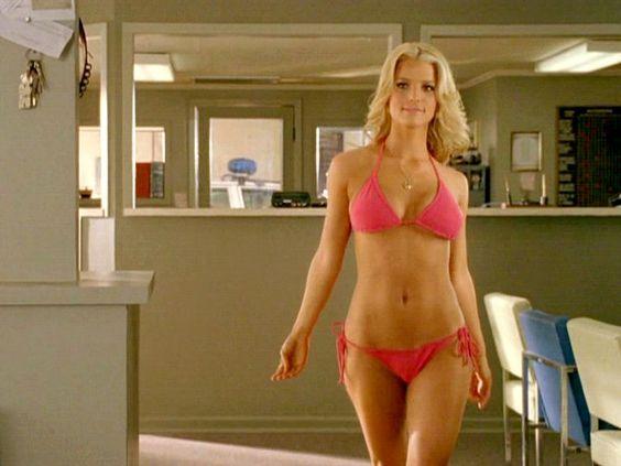 Jessica Simpson Bikini Dukes Of Hazard