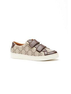 Gucci - Kid's Brooklyn GG Canvas Sneakers
