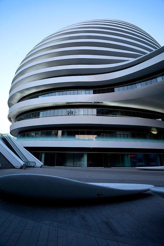 Galaxy Soho por Zaha Hadid en Beijing