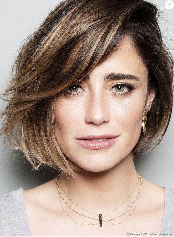 Corte de cabelo inverno 2020 rosto redondo