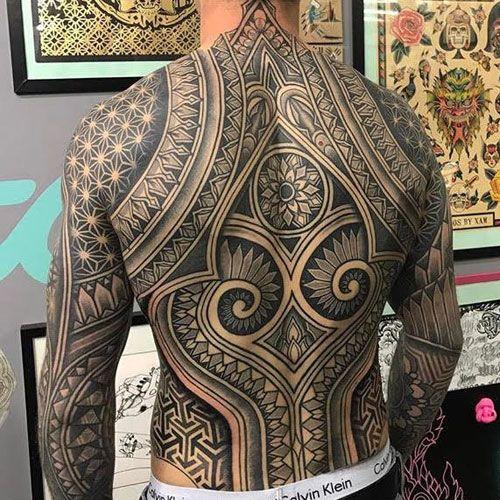 101 Best Tribal Tattoos For Men Cool Designs Ideas 2020 Guide Tribal Back Tattoos Tribal Tattoos Tribal Tattoos For Men