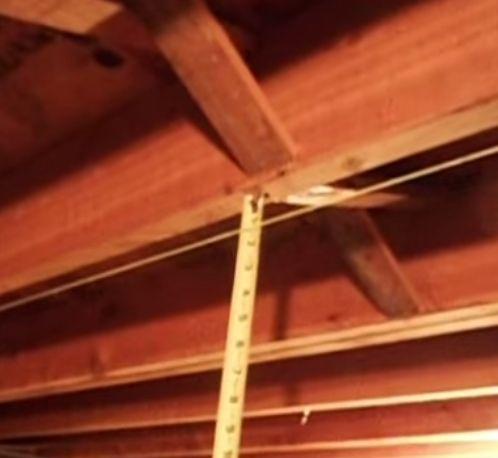 Video Repairing Sagging Floor Joists With Sticking Door Etc 1 4 Rise Per Week Old House Restoring Building Info Pinterest Doors