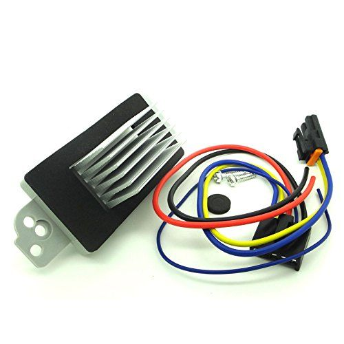 Blower Motor Resistor Complete Kit With Harness Replaces 15