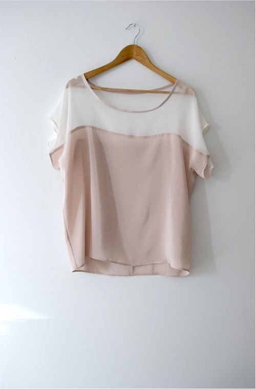 Mmmmmm, do I want to eat or wear this blouse...not sure yet. Love!