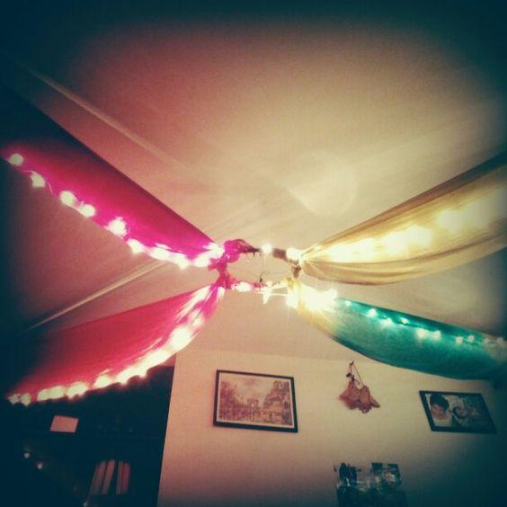 Hula hoops lighting