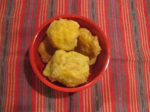 Cheese Gougeres- Fluffy, and warm, they are so addicting.   https://habaneroandhoney.wordpress.com/