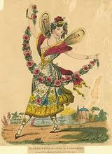 an old  dancer,1700s